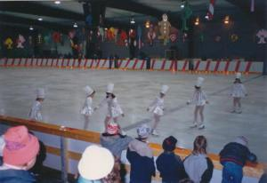 Tammy as a baker, third from the left, 1987
