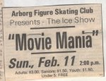 Interlake Spectator, Movie Mania Advertisement, 1990