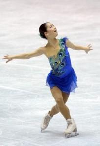 Akiko Suzuki in her dress from the 2012/2013 season. Always stunning, always beautiful.