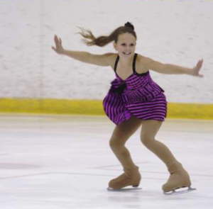 Arborg's Olivia Orbanski will be one of 66 skaters competing in the 2015 Interlake Regional STARSkate Championships at the Arborg Skating Club on January 11.